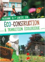 Le programme éco-construction et transition écologique 2nd semestre !